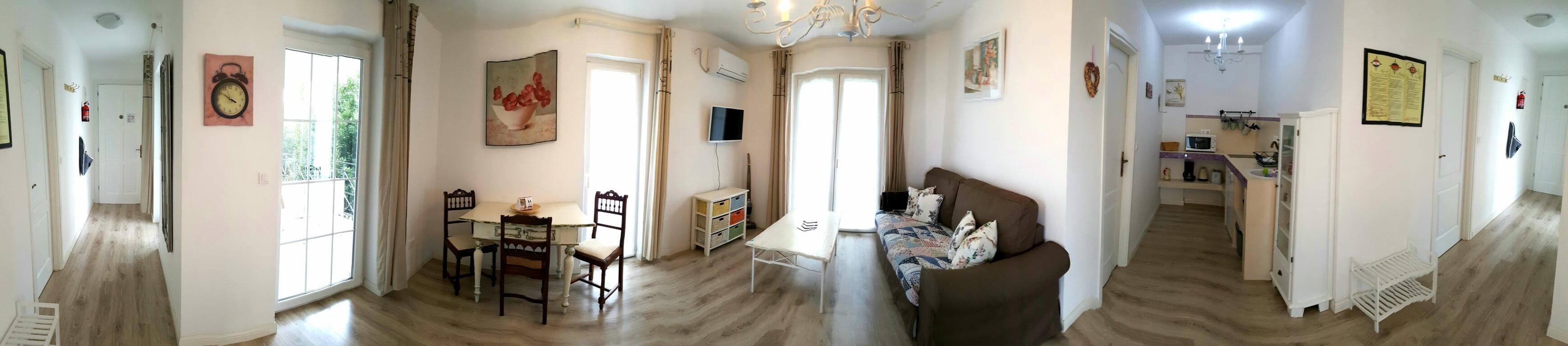Apartment Agava Panorama Wohn&Essbereich&Kuche