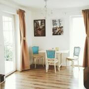 Apartment Pinia Essbereich&Terasse-Balkon von dem Sie einen schonen Blick auf die Adria&Traumstrande&Buchten haben