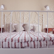 Deluxezimmer Amfora Bett&Nachttische