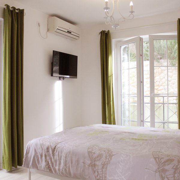 Gartenzimmer Akazia Aussicht&Bett