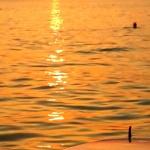 Sunset am Harmoniebeach Crikvenica