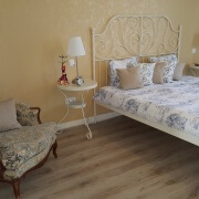 Apartment Oleander Schlafzimmer
