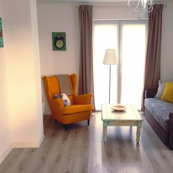 Apartment Oleander Wohnbereich