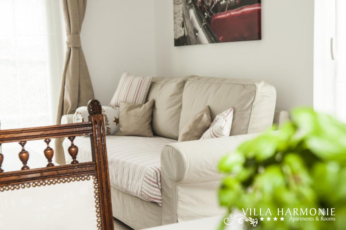 Schlafcouch im Apartment Lavanda Villa Harmonie Crikvenica