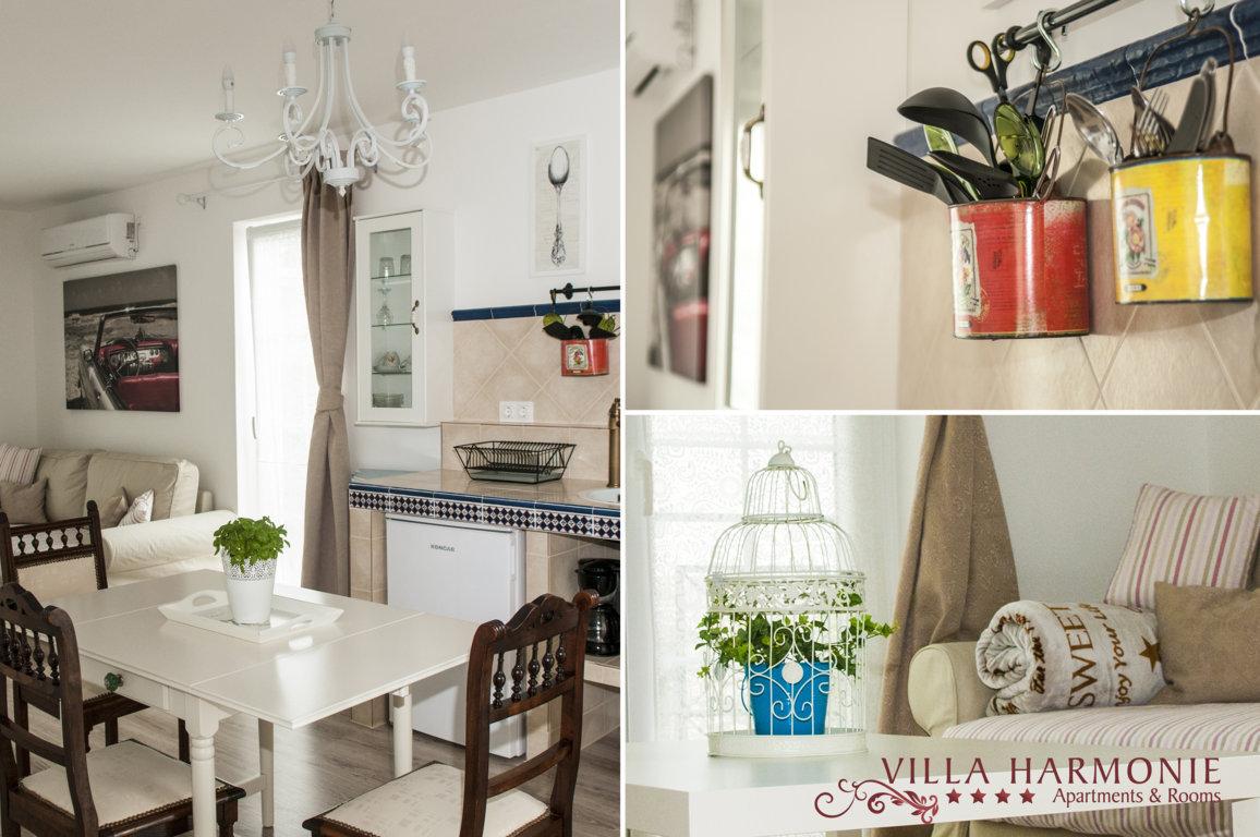 Kuchenbereich im Apartment Lavanda & (Kroatischekuche) Villa Harmonie Crikvenica