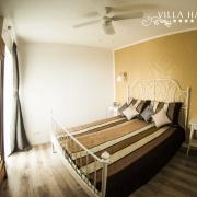 Schlafzimmer im Apartment Pinia& Deckenventilator Villa Harmonie Crikvenica