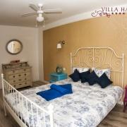 Schlafzimmer im Apartment Lavanda& Deckenventilator Villa Harmonie Crikvenica