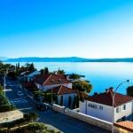 Aussicht auf die Riviera Crikvenica