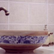 Badezimmerdetail Villa Harmonie
