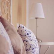 Schlafzimmerdetail im Apartment Oleander Villa Harmonie Crikvenica